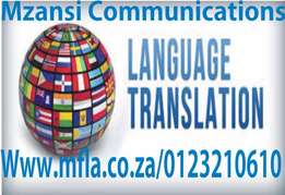 Document translation services in SA