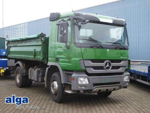 Mercedes-Benz 1841 K Actros, Meiller 4.800mm, Klima, Ahk,410ps - 2010