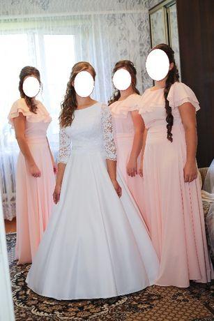 df69c2af68bc9b Весільна сукня (плаття)+фата+круг. Б/у: 6 000 грн. - Весільні сукні ...