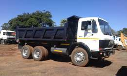 Mercedes Benz 2624 Tipper 10m3.Good running condition.