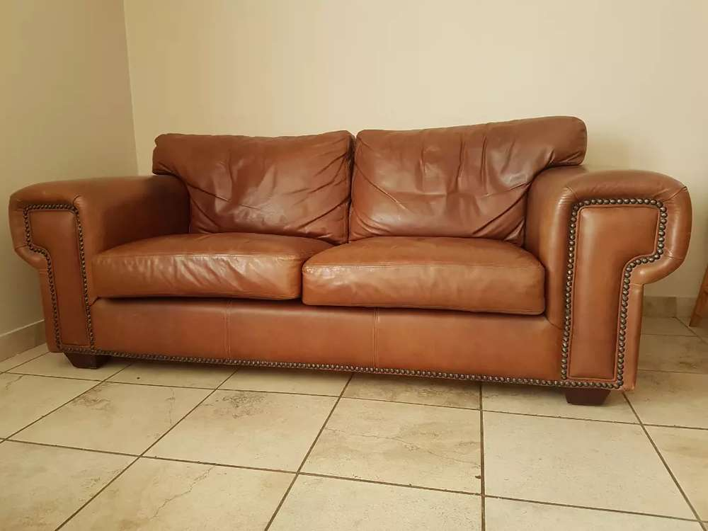 Buffalo Leather Couches 2 Available