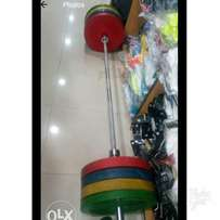 Olympic BARBELL with weight 150kg Brand new imported original