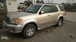 Smooth Driving Nig Used 2002 Toyota Sequoia Limited In Superb Conditio