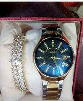 Random Wrist Watch and Bangle