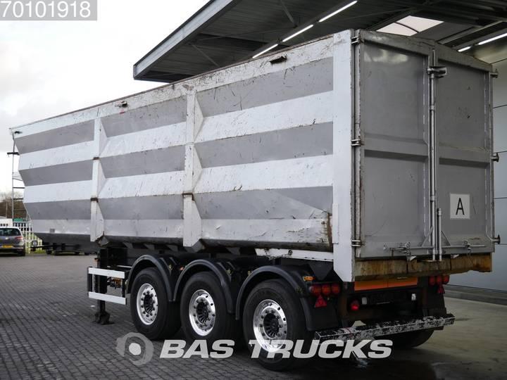 Luck SKF35 47m3 Stahl kipper Schrott/Ferro Liftachse  3 a... - 2011