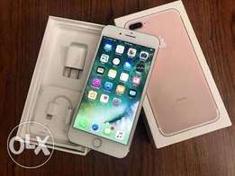 IPhone 7 Plus 128gb rose gold and black color
