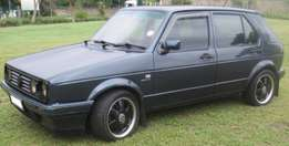 Golf 1 Velociti 1.6i for sale R20000 NEG