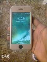 3month used gold color Iphone5 for sale