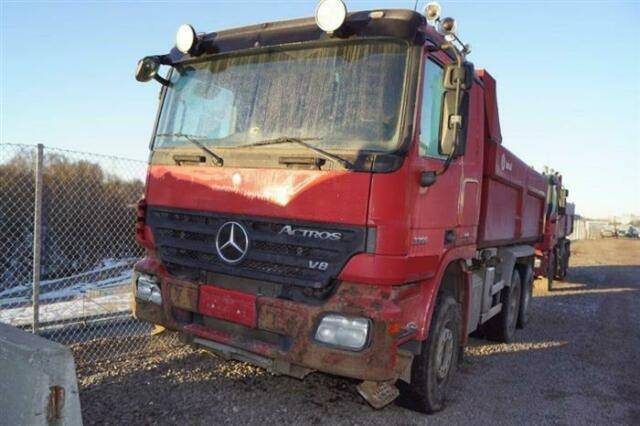 Mercedes-Benz ACTROS 3351 SOON EXPECTED 6X4 EPS FULL STEE - 2008