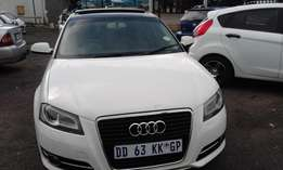 VW Audi A3 1.8T Colour White 5 Door Model 2012 Factory A/C & MP3 Playe
