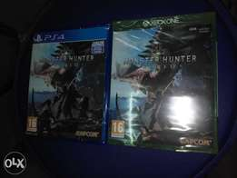 Monster hunter PS4 Xbox one