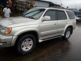 Clean Nigerian used Toyota 4Runner