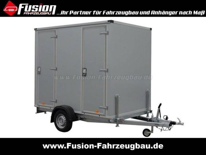 WC-Mobil Toilettenanhänger für Events