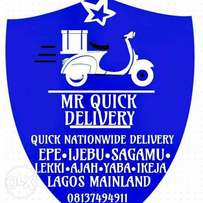 Mr quick logistics and delivery