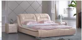 King Size Bed Leather Bed