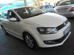 2012 VW Polo 6 1.4 Comfortline For R124000.