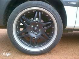 19 inch Mercedes-benz rims with tyres