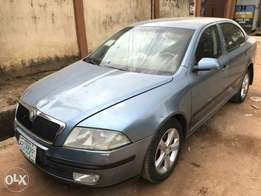 first body 2006 Skoda Octavia
