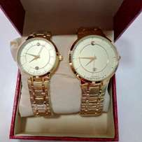 Movado Museum Classic Couples Watch - Gold