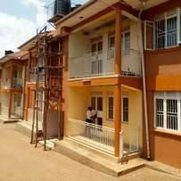 Wonderful two bedroom apartment house for rent in kireka at 500k