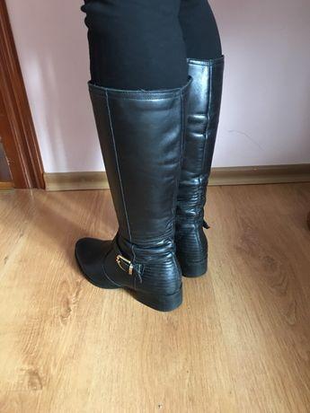 Жіночі шкіряні чоботи cf978f28d4e5f