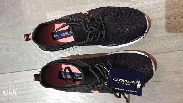 US Polo Assn. Women Shoes original new bought from USA, size 36.5