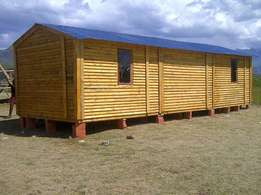 We make and Sell Wendy House made out of both pallet wood and log cabi