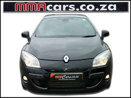 2011 RENAULT MEGANE III 1.4 TCE GT-LINE convertible R179,890.00