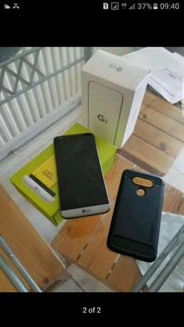 LG G5 32gb lte titanium grey as new 4gb ram in with accesories situate Fordsburg - image 1