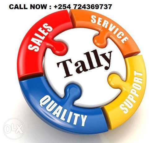 Tally ERP 9 software of accounts latest release and support Nairobi CBD - image 1