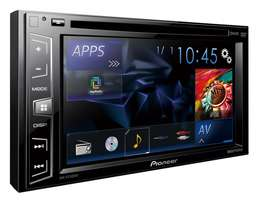 Pioneer AVH-195DVD 6.2 inches screen,usb,dvd,aux,supports rear camera