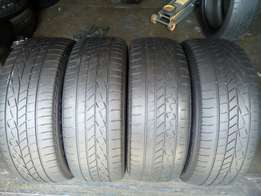 235/55/19 tyres for sell