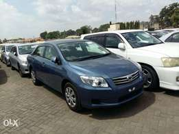 New rare blue Toyota axio 2011 model