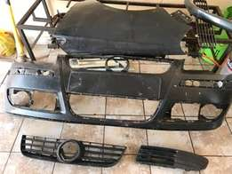 2007 VW Polo stripping for parts bumper, fender, lights available