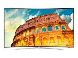 Samsung 55inch FHD smart curved led hd tv+wall mount