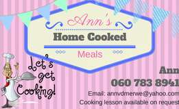 Catering for your Birthday and cooked meals