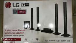 LG hometheater LHD657M