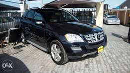 Foreign Used 2009 Mercedes Benz ML 350 4matic With Navi Rev Camera.