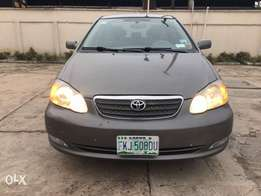 Very clean Toyota Corolla 2006 model, first body
