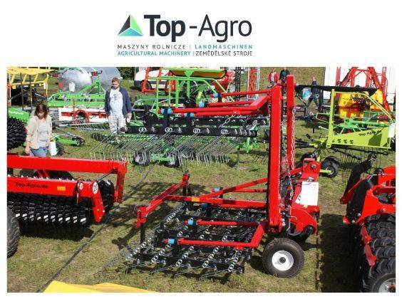 Top-Agro Harrow / Weeder 6m, Hydraulic Frame - 2019