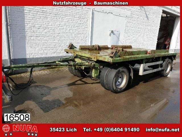 Schmidt FT/18/Z/ 4,8  Anhänger für Absetzcontainer - 2005