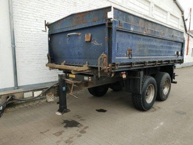 Schmitz Cargobull ZKI 18 ZKI 18 Alubordwände abklappar pendelnd - 2009