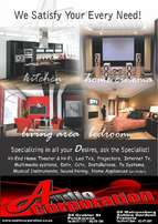 Sounds systems, TVs, Wifi TV and more!