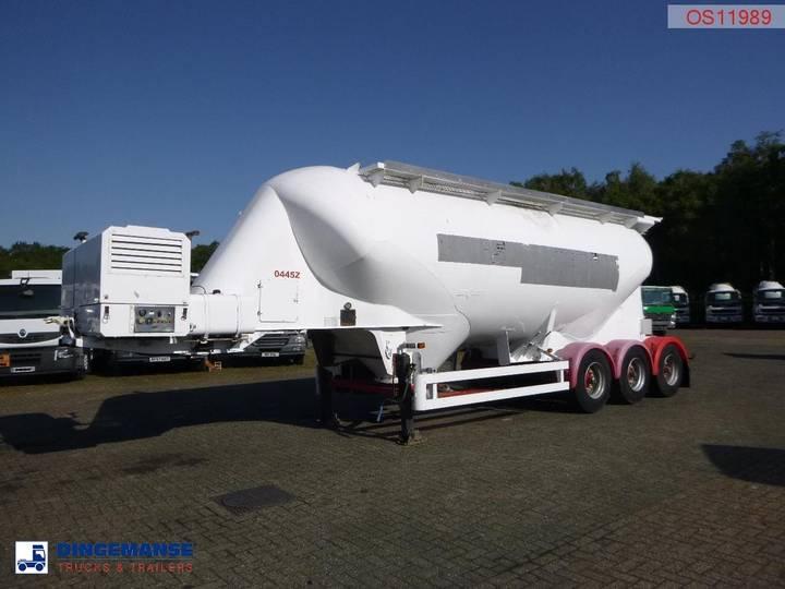 Spitzer Bulk tank alu 34 m3 / 1 comp + engine/compressor - 1999