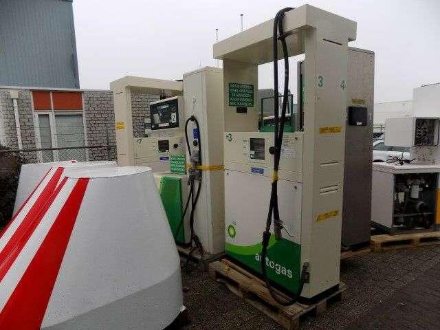 Trailer Gilbarco Gas En Diesel En Benzine Fuel Tank - 1997
