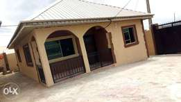 Newly built Two bedrooms flat with three toilets. All Pop. Tastefully