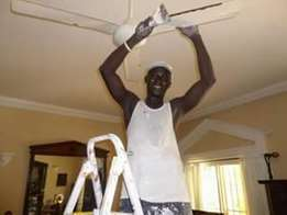 Painting, tile fixing, gypsum, cabro fixing and plaster