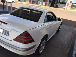 2002 MERCEDES-BENZ SLK 200 Kompressor