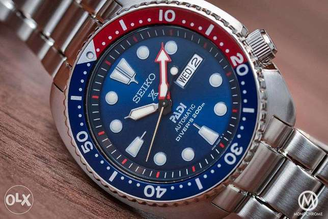 Brand New Seiko PADI Prospex Turtle automatic watch