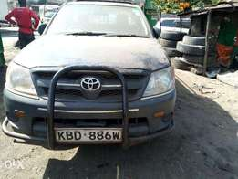 Clean Toyota Pick up Vigo KBD local 2008(without engine) for 720k